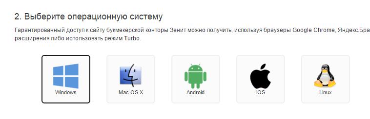 Zenitbet mobile